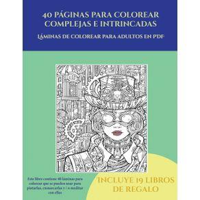 Laminas-de-colorear-para-adultos-en-PDF--40-paginas-para-colorear-complejas-e-intrincadas-