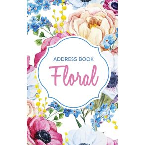 Address-Book-Floral