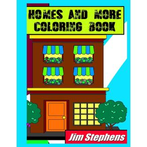 Homes-and-More-Coloring-Book