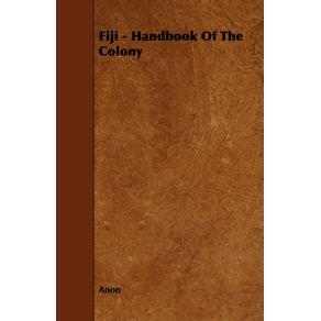 Fiji---Handbook-Of-The-Colony
