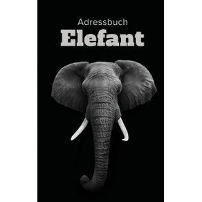 Adressbuch-Elefant