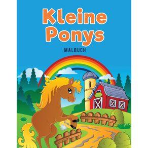 Kleine-Ponys-Malbuch