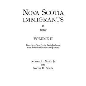 Nova-Scotia-Immigrants-to-1867-Volume-II