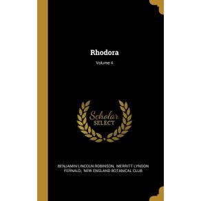 Rhodora--Volume-4