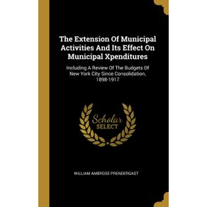 The-Extension-Of-Municipal-Activities-And-Its-Effect-On-Municipal-Xpenditures