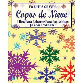 Copos-de-Nieve-Libro-Para-Colorear-Para-Los-Adultos---En-Letra-Grande-