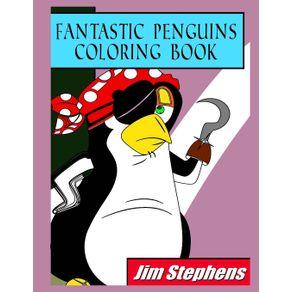 Fantastic-Penguins-Coloring-Book