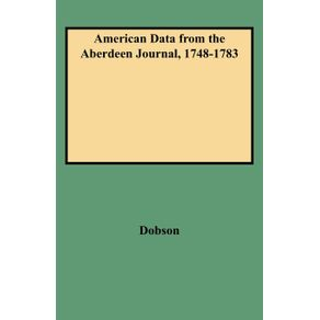 American-Data-from-the-Aberdeen-Journal-1748-1783