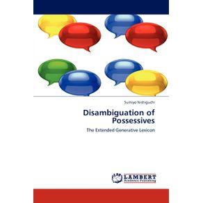 Disambiguation-of-Possessives