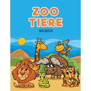 Zoo-Tiere-Malbuch