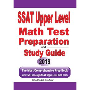 SSAT-Upper-Level--Math-Test-Preparation-and--study-guide