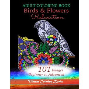 Adult-Coloring-Book-Birds---Flowers-Relaxation
