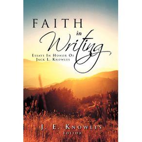 Faith-in-Writing