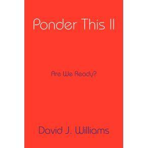 Ponder-This-II