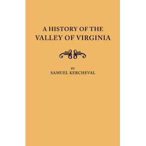 A-History-of-the-Valley-of-Virginia