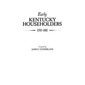 Early-Kentucky-Householders-1787-1811