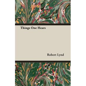 Things-One-Hears
