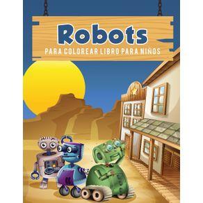 Robots-para-colorear-libro-para-ninos