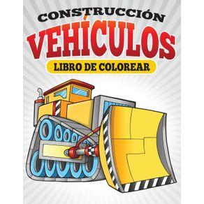 Construccion-Vehiculos-Libro-De-Colorear