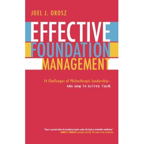 Effective-Foundation-Management