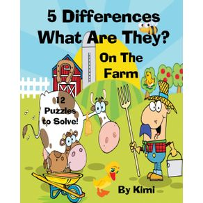 5-Differences--What-Are-They----On-the-Farm--For-Kids--Kids-Series-