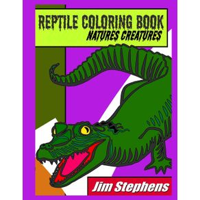 Reptile-Coloring-Book