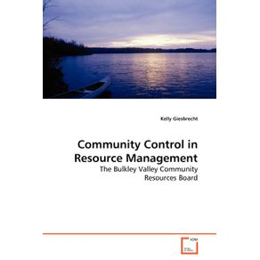 Community-Control-in-Resource-Management
