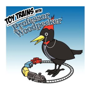 Toy-Trains-with-Professor-Woodpecker