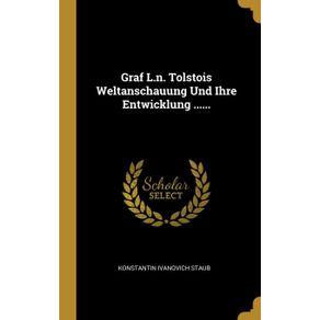 Graf-L.n.-Tolstois-Weltanschauung-Und-Ihre-Entwicklung-......
