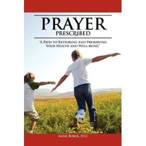 Prayer-Prescribed