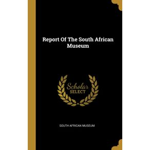 Report-Of-The-South-African-Museum
