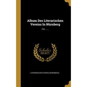 Album-Des-Literarischen-Vereins-In-Nurnberg