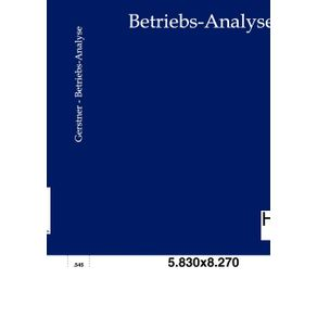 Betriebs-Analyse