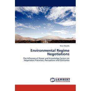 Environmental-Regime-Negotiations