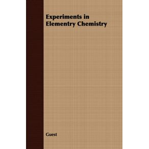 Experiments-in-Elementry-Chemistry