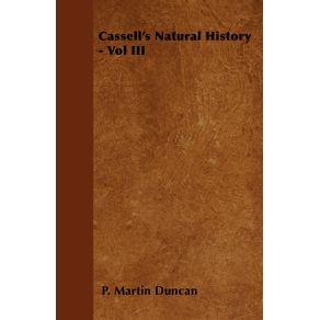 Cassells-Natural-History---Vol-III