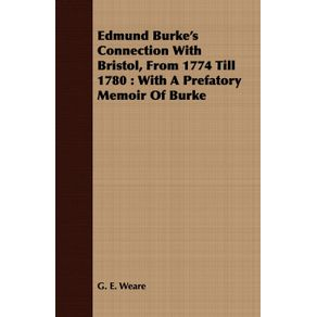 Edmund-Burkes-Connection-With-Bristol-From-1774-Till-1780