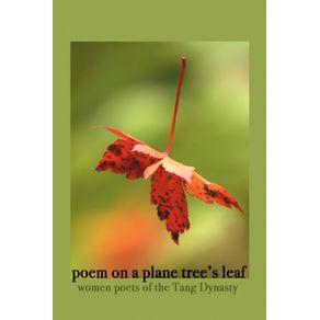 Poem-on-a-Plane-Trees-Leaf