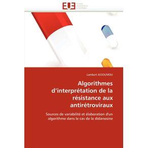Algorithmes-dinterpretation-de-la-resistance-aux-antiretroviraux