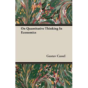 On-Quantitative-Thinking-In-Economics