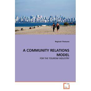 A-COMMUNITY-RELATIONS-MODEL