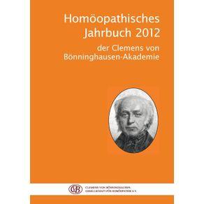 Homoopathisches-Jahrbuch-2012