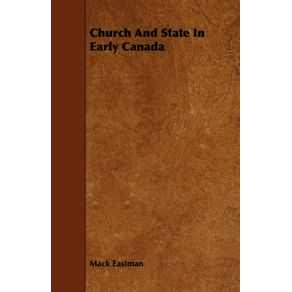 Church-And-State-In-Early-Canada