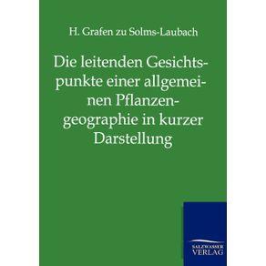 Die-leitenden-Gesichtspunkte-einer-allgemeinen-Pflanzengeographie-in-kurzer-Darstellung