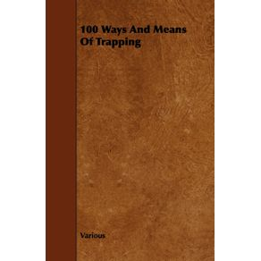 100-Ways-and-Means-of-Trapping