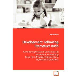 Development-Following-Premature-Birth