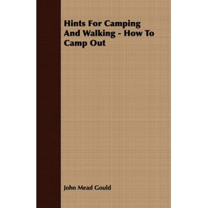 Hints-For-Camping-And-Walking---How-To-Camp-Out