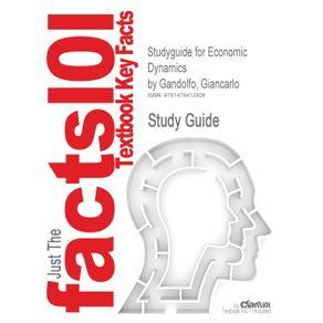 Studyguide-for-Economic-Dynamics-by-Gandolfo-Giancarlo-ISBN-9783642135033