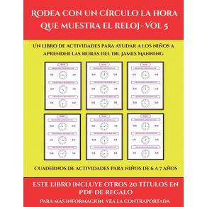 Cuadernos-de-actividades-para-ninos-de-6-a-7-anos--Rodea-con-un-circulo-la-hora-que-muestra-el-reloj--Vol-5-