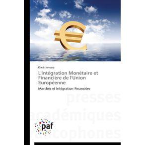 Lintegration-monetaire-et-financiere-de-lunion-europeenne